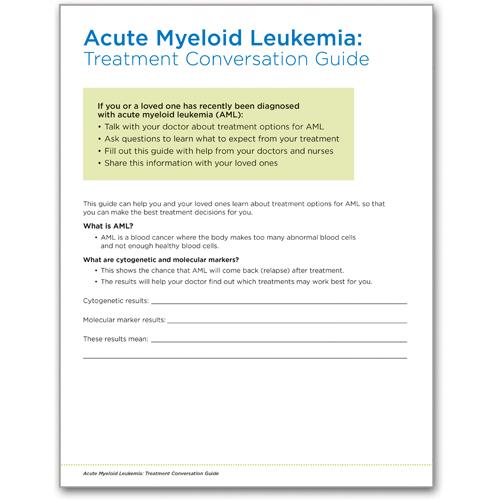 thumbnail - AML treatment conversation guide
