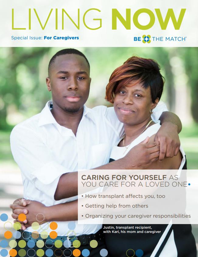 Living Now Caregiver Cover